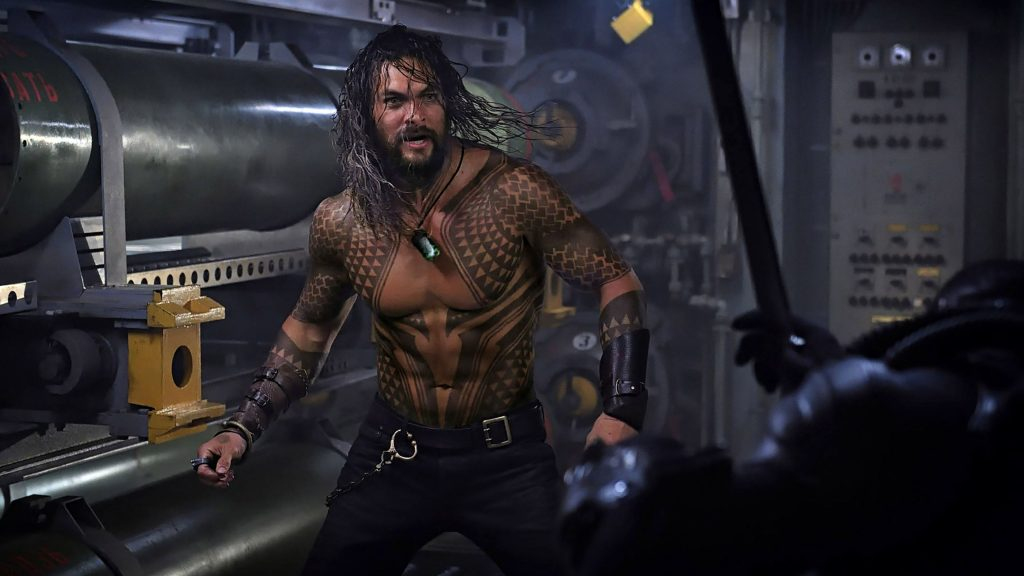 Jason Momoa in Aquaman 2018 Movie 4K Wallpaper