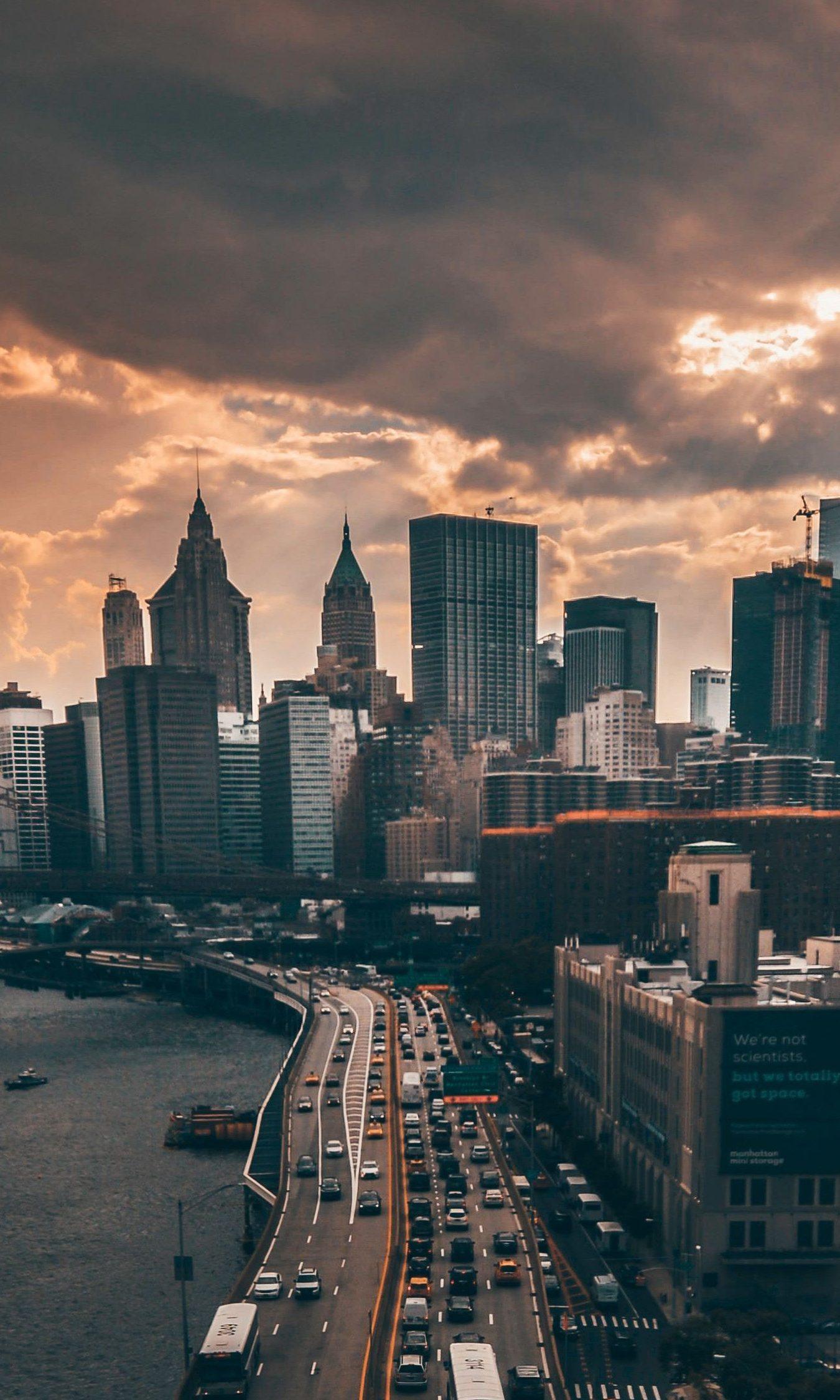 Manhattan New York City 4K Wallpaper - Best Wallpapers
