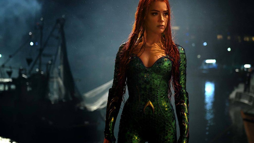 Mera in Aquaman Movie 2018 4K Wallpaper