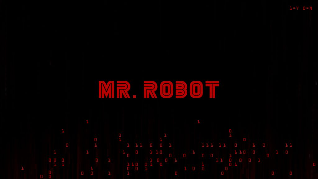 Mr Robot Logo 4K Wallpaper