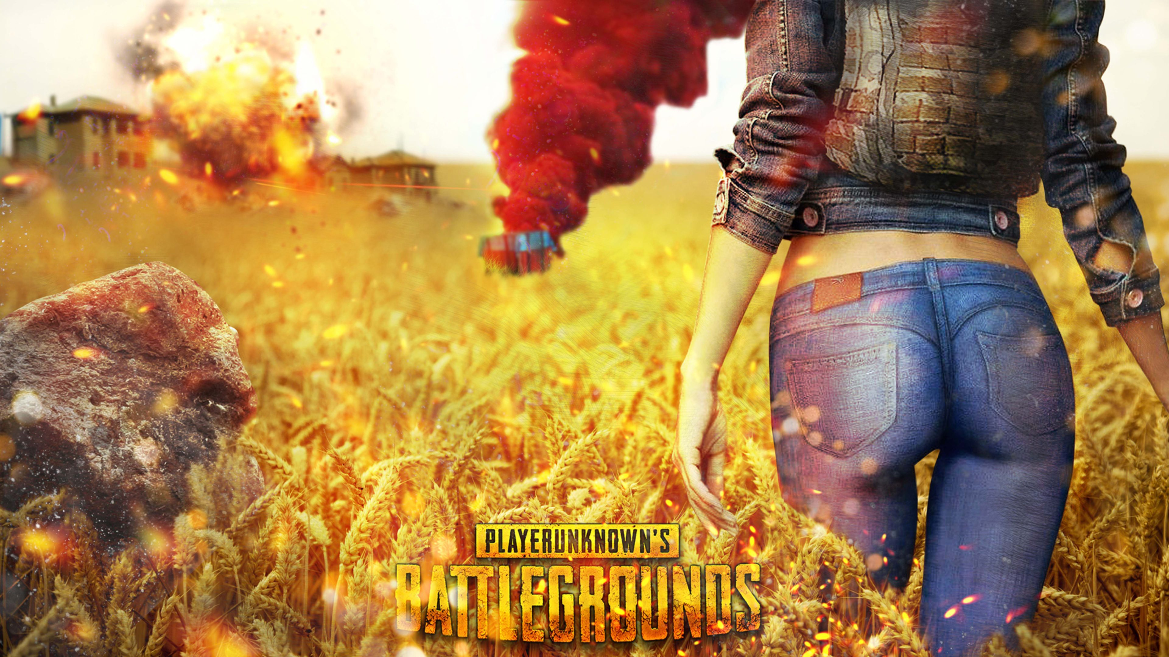 Download 1366x768 Pubg Mobile Characters Playerunknown S: Playerunknowns Battlegrounds PUBG Cover 4K Wallpaper