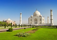 Taj Mahal Agra India 5K Wallpaper