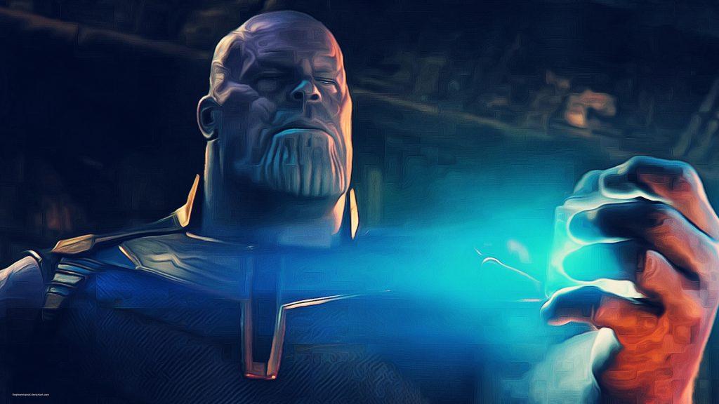 Thanos Breaking Tesseract Avengers Infinity War 4K Wallpaper