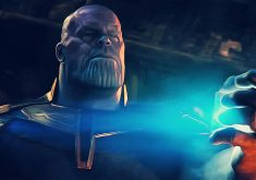 Thanos Breaking Tesseract Avengers Infinity War 4K Wallpaper