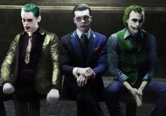 The 3 Jokers Jared Leto Cameron Monaghan and Heath Ledger 4K Wallpaper