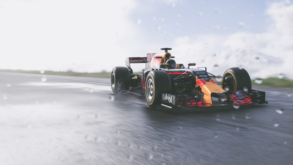 The Crew 2 Red Bull F1 Car Game 4K Wallpaper