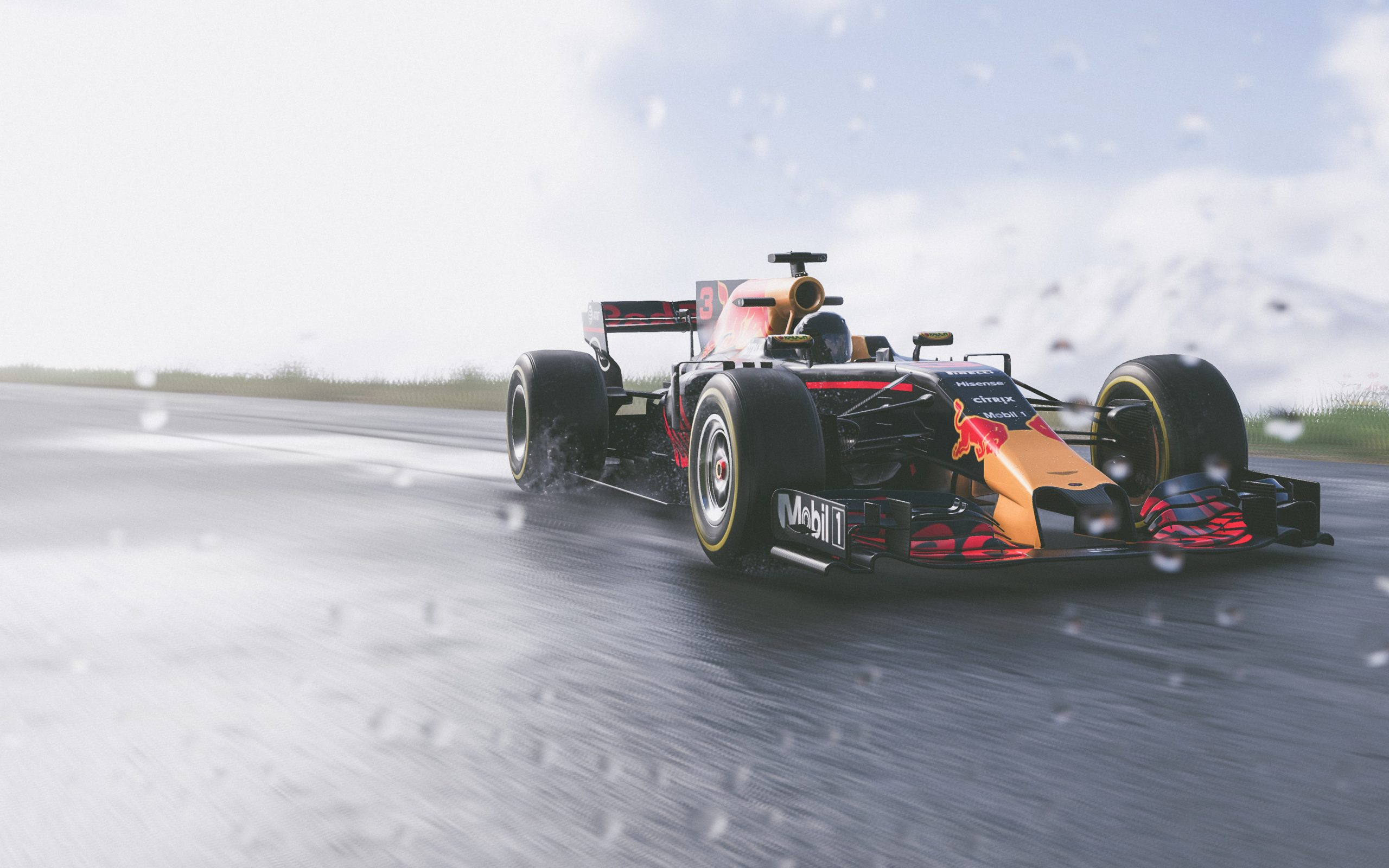 10 Latest Red Bull Racing Wallpaper Full Hd 1080p For Pc: The Crew 2 Red Bull F1 Car Game 4K Wallpaper