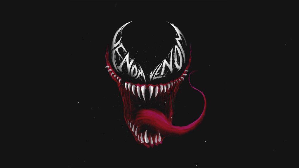 Venom Art 4K Wallpaper