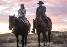 Westworld Season 2 in James Marsden and Evan Rachel Wood 4K Wallpaper