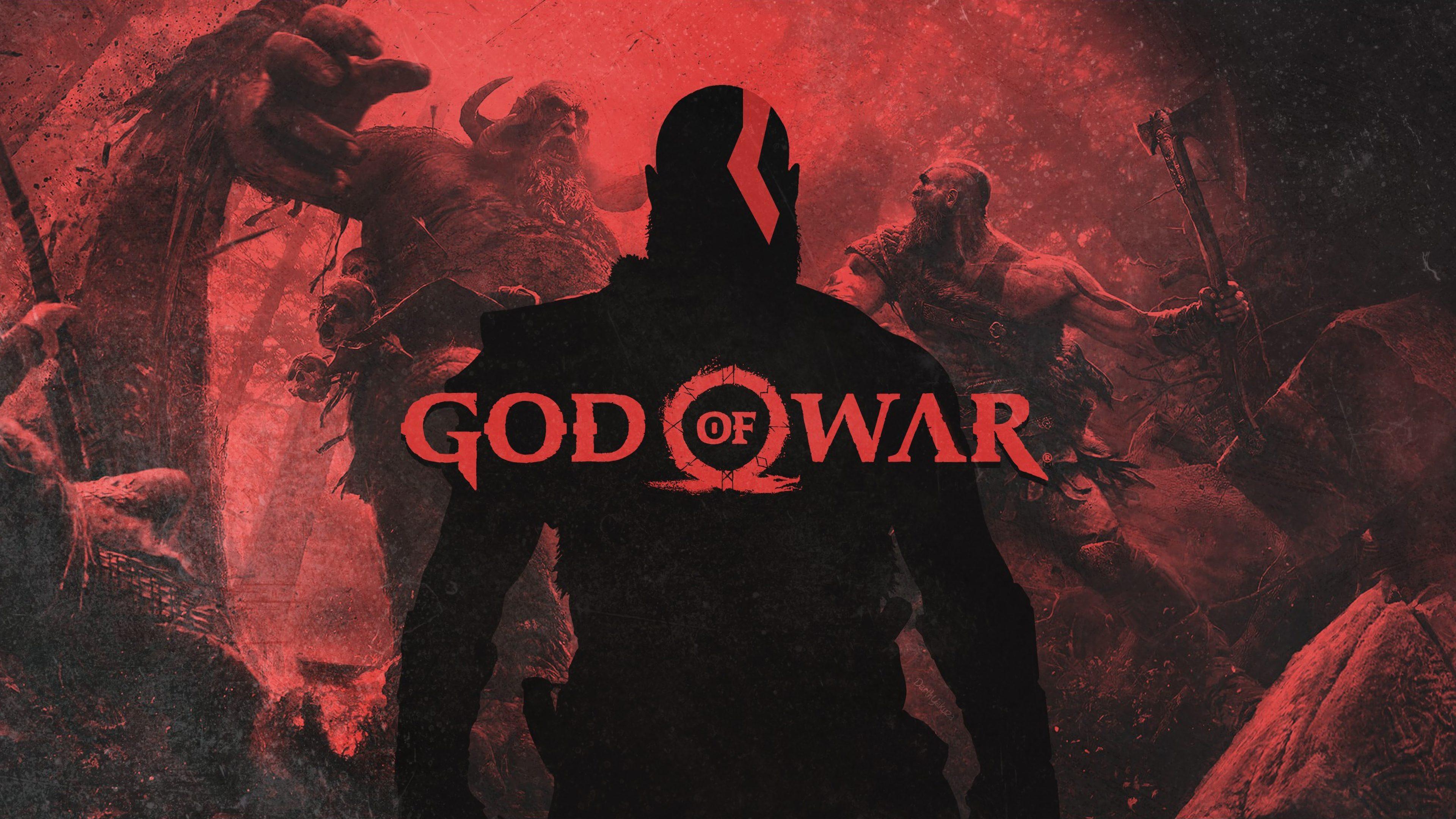 God Of War Kratos 4k Wallpaper Best Wallpapers
