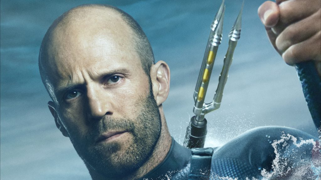Jason Statham in the Meg Movie 4K Wallpaper