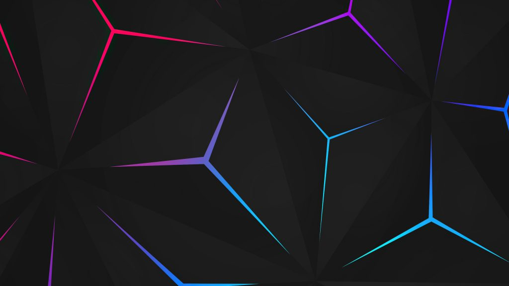 Abstract Polygon Colorful 4K Wallpaper