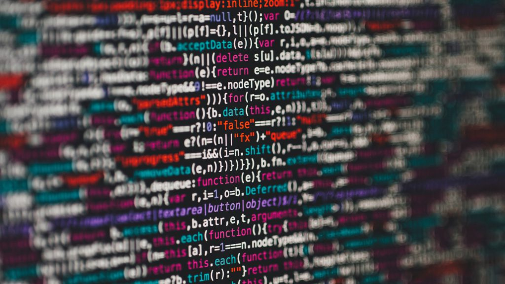 Coding Programmer Text Colorful 5K Wallpaper