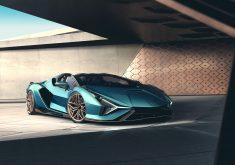 Lamborghini Sports Car Automobile 4K Wallpaper
