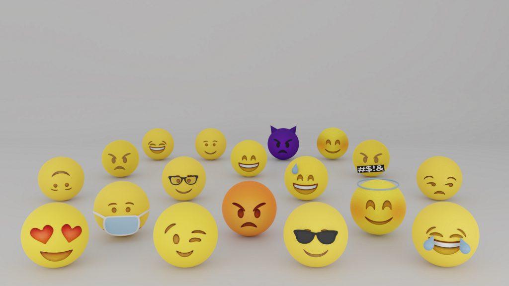 Emojis Yellow 5K Wallpaper