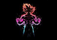Goku Dragon Ball Z Art 4K Wallpaper