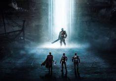 Thanos Ironman Thor Captain America 4K Wallpaper